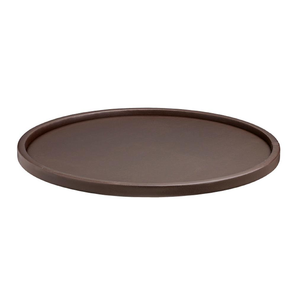 14' BROWN SERVING TRAY (1)